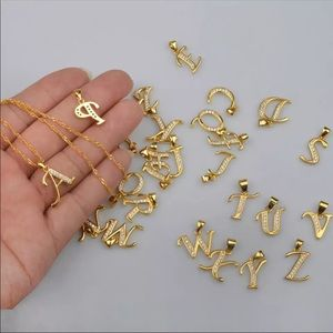 Jewelry - - New 18k gold plated letter necklace